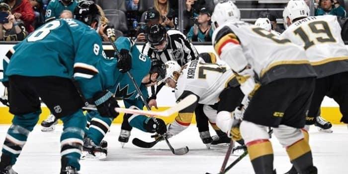 Прогноз на хоккейный матч «Сан-Хосе» — Вегас», 5.10.2019 в 5:30 по мск