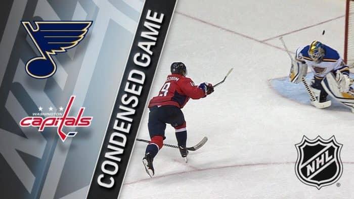 Прогноз на хоккейный матч «Сент-Луис» — «Вашингтон», 03.10.2019 в 3:00 по мск