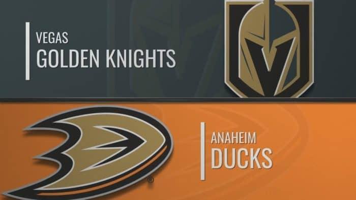 Прогноз на хоккейный матч «Вегас» — «Анахайм» 31.12.19 в 23:00 по мск