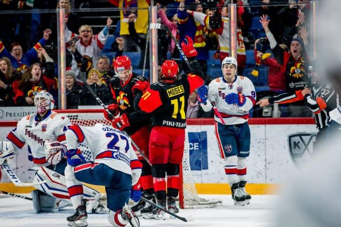 Прогноз на хоккейный матч СКА – «Йокерит», 16.01.2020 в 19:30 по мск