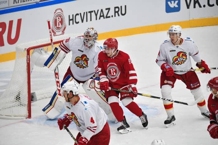Прогноз на хоккейный матч «Витязь» — «Йокерит», 14.01.2020 в 19:30 по мск