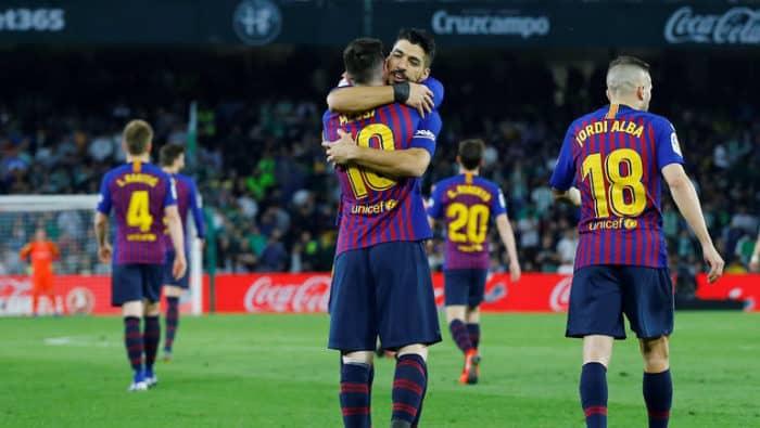 Прогноз на футбольный матч «Бетис» — «Барселона», 9 февраля 2020 года в 23:00 по мск