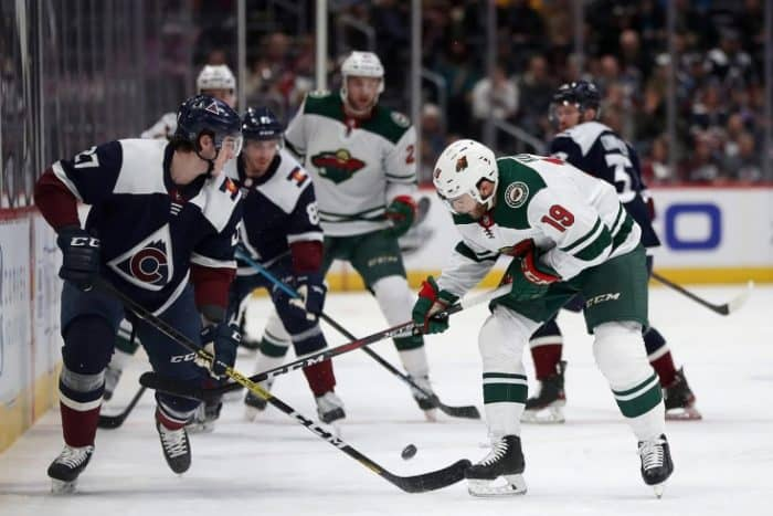 Прогноз на хоккейный матч «Миннесота» — «Колорадо», 10 февраля 2020 в 3:30 по мск