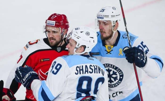 Прогноз на хоккейный матч «Сибирь» — «Автомобилист», 6.03.2020 в 15:30 по мск